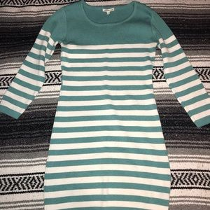 Turquoise Cotton On sweater dress